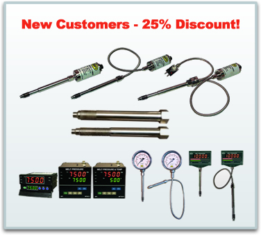 New customers 25% Discount MPI Pressure