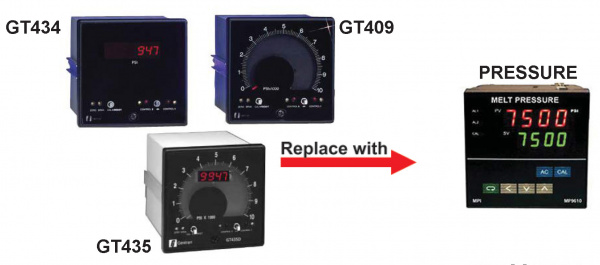 Gentran GT434 GT435 GT409 to MPI cross reference