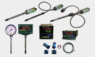 Pressure gauge kit and products