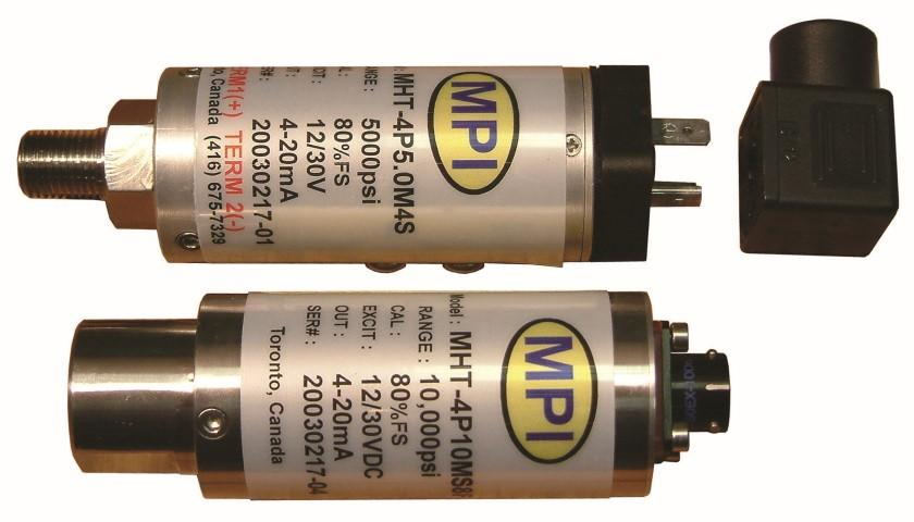 MPI industrial pressure transmitters