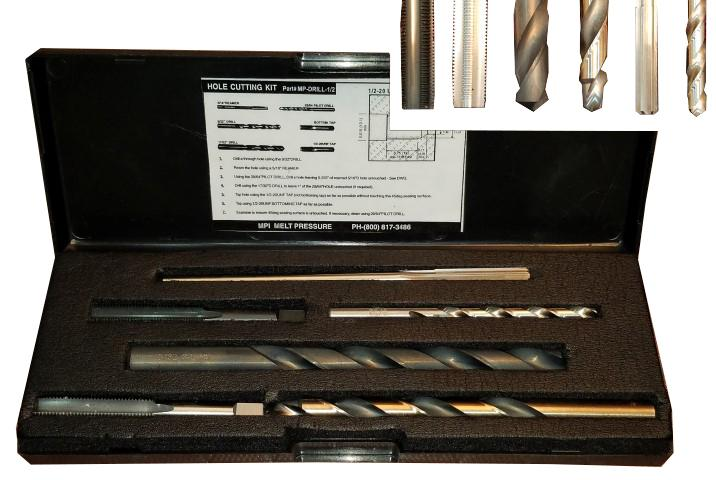 1/2-20 UNF - Hole Drill Kit