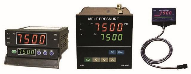 Melt Pressure Transducer Indicators