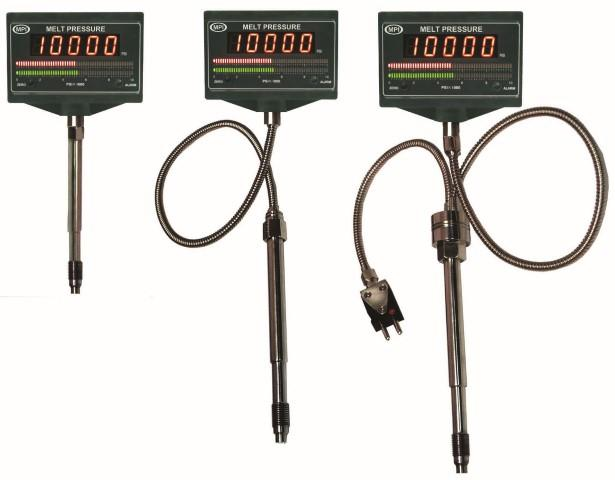 MPI Digital Melt Pressure Gauges